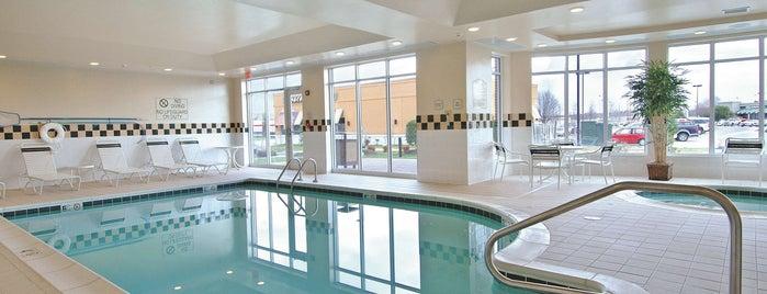 Hilton Garden Inn is one of Lugares favoritos de Jonathan.