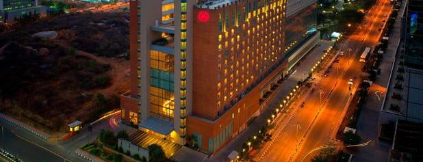 Sheraton Hyderabad Hotel is one of Bernie's Liked Places.