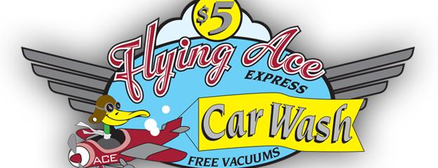 Flying Ace Express Car Wash is one of Tempat yang Disukai Omer.