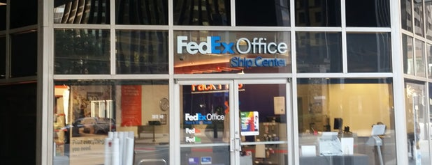 FedEx Office Ship Center is one of Misclassified Venues.