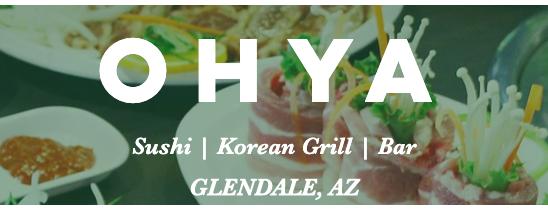 Ohya Sushi, Korean Kitchen & Bar is one of Lieux sauvegardés par Katherine.