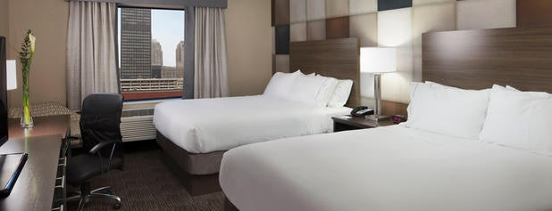 Holiday Inn Express & Suites Oklahoma City Dwtn - Bricktown is one of Lieux sauvegardés par Mat.