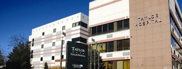 Taylor Hospital is one of Lugares favoritos de Laura.