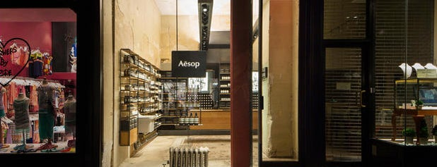 Aesop is one of USA New York 🇺🇸.