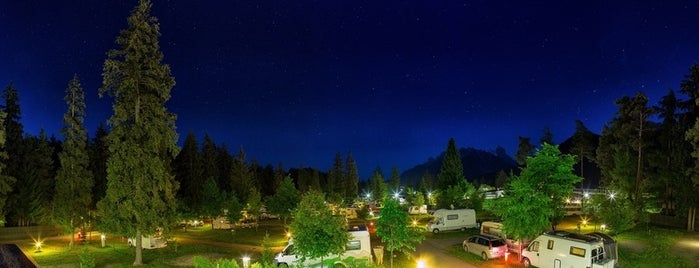 Camping Olympia is one of Dolomites favs.
