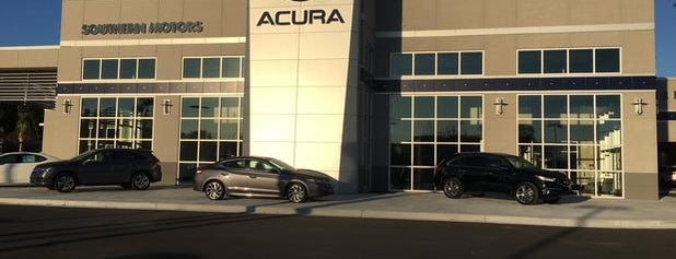 Southern Motors Acura is one of Locais curtidos por Zak.