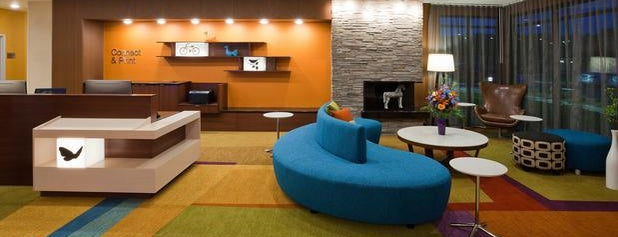 Fairfield Inn & Suites St. Paul Northeast is one of Lugares favoritos de Chad.