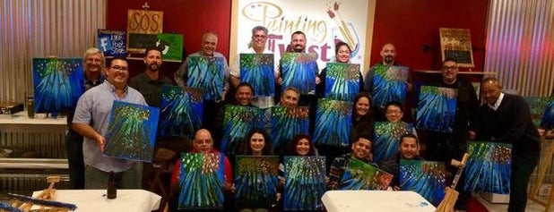 Painting with a Twist is one of Lugares favoritos de Ana.