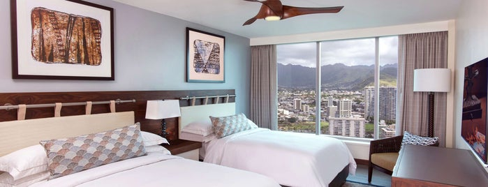 The Grand Islander by Hilton Grand Vacations is one of O'ahu, Hawaii.