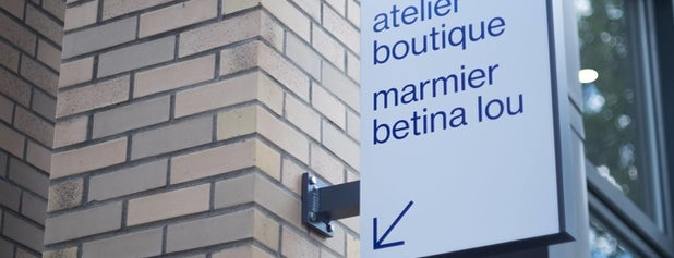 Atelier Boutique Marmier Betina Lou is one of montreal 2019.