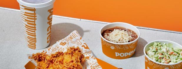 Popeyes Louisiana Kitchen is one of My favs.