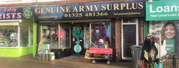 Genuine Army Surplus is one of Orte, die Carl gefallen.