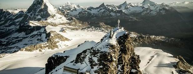 Matterhorn Glacier Paradise is one of Locais curtidos por Anya.