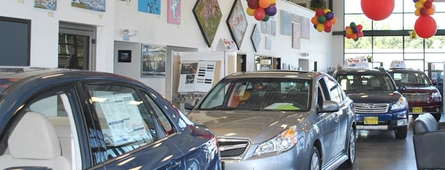 Burlington Subaru is one of Subaru of New England Dealers.
