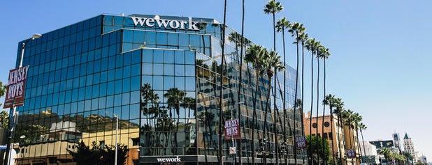 WeWork Hollywood is one of LA Work Spaces.