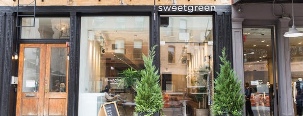 sweetgreen is one of NY.