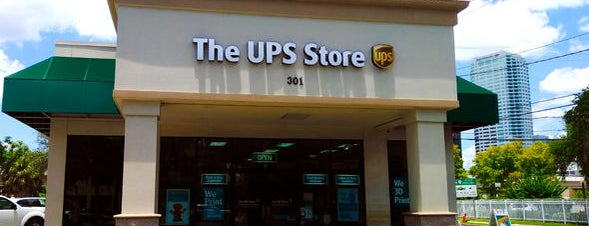 The UPS Store is one of Orte, die Melissa gefallen.