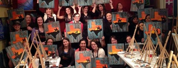 Painting with a Twist is one of AUSTIN STUFF.