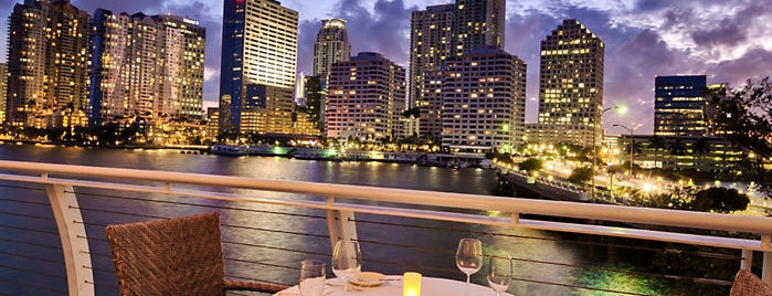 Azul at Mandarin Oriental, Miami is one of South beach.