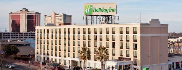 Holiday Inn is one of Orte, die James gefallen.