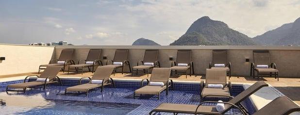Residence Inn Rio de Janeiro Barra da Tijuca is one of Orte, die Carolina gefallen.