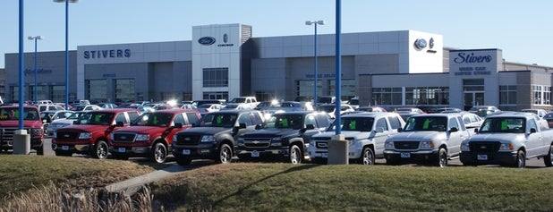 Stivers Ford Lincoln is one of Guide to Waukee's best spots.