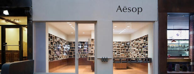 Aēsop is one of NYC.