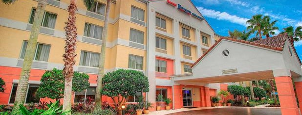 Fairfield Inn & Suites West Palm Beach Jupiter is one of Cool hotels.