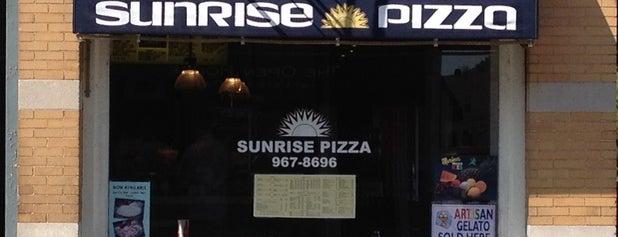 Sunrise Pizza & Restaurant is one of Kevin : понравившиеся места.
