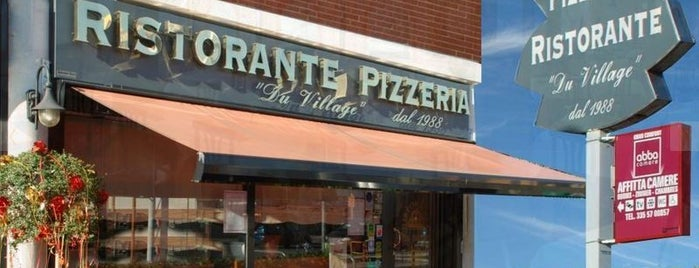 Du Village Ristorante Pizzeria is one of ristoranti - pizzerie.