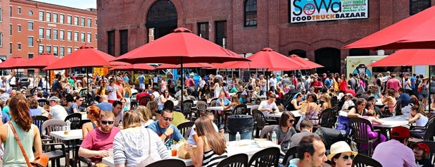 SoWa Open Market is one of Boston, MA.