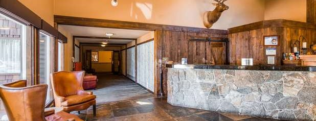 Best Western Plus Truckee-Tahoe Hotel is one of Locais salvos de Gordon.