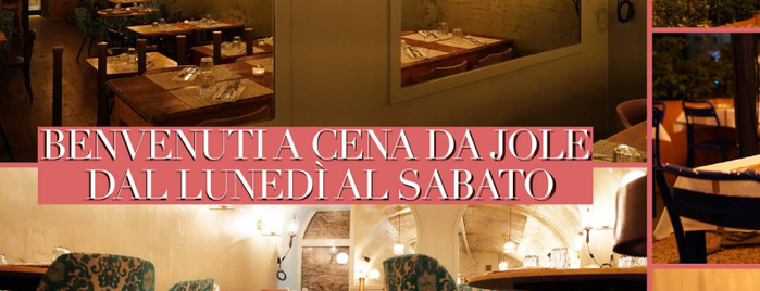 Ristorante Jole is one of Rome Lifestyle Guide.