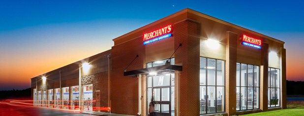 Merchant's Tire & Auto Centers is one of Tempat yang Disukai Eric.
