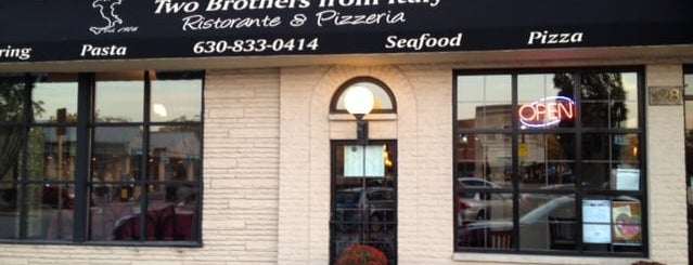 Two Brothers From Italy Ristorante and Pizzeria is one of Elmhurst.