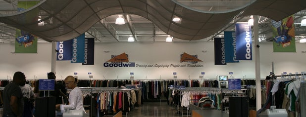 Goodwill is one of Thrift Shop.