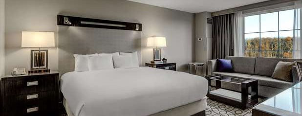 Hilton Columbus at Easton is one of Lieux qui ont plu à IrmaZandl.