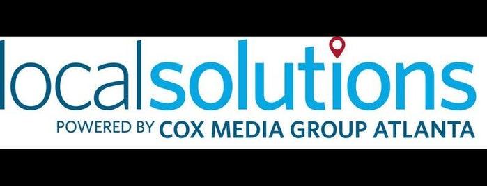Cox Media Group Atlanta is one of Tim : понравившиеся места.