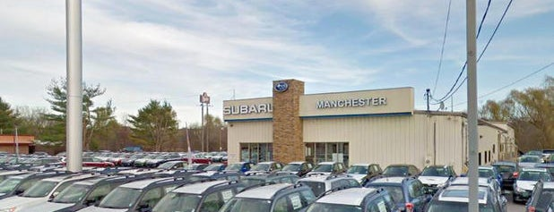 Manchester Subaru is one of Subaru of New England Dealers.
