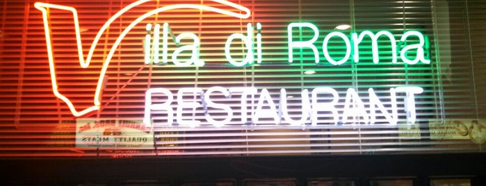 Villa Di Roma is one of Restaurants downtown.
