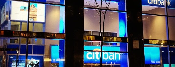 Citibank is one of Tempat yang Disukai Michael.