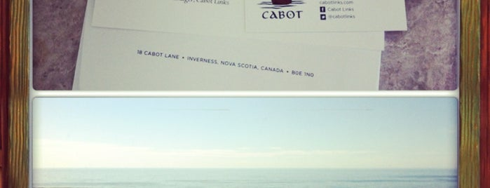 Cabot Links Lodge is one of Bob Pelley's Cape Breton.