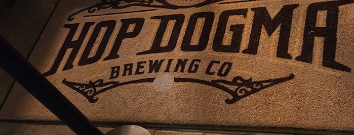 Hop Dogma Brewing Co. is one of Home.