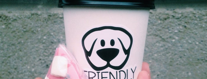 Friendly Coffee is one of Tempat yang Disimpan Артем.