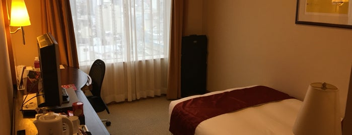 ANA Crowne Plaza Toyama is one of Creig 님이 좋아한 장소.