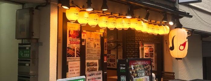 スパ串酒場 うまいける is one of Lugares favoritos de 🐷.
