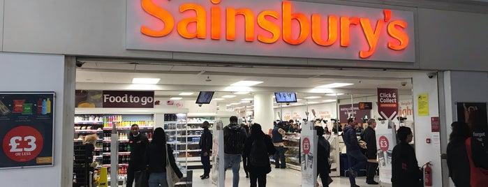 Sainsbury's is one of Lieux qui ont plu à Paul.
