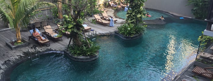 Swimming Pool - Oasis Lagoon Sanur is one of Creig 님이 좋아한 장소.