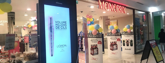 Monoprix is one of Lugares guardados de Samet.