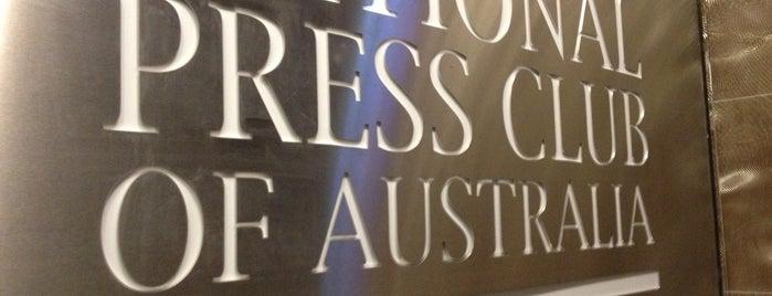 National Press Club of Australia is one of Lieux qui ont plu à Rick.